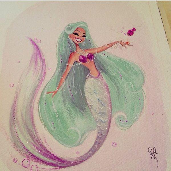 Mermaid Liana Hee Mermaids 2.0 Drawings And Illustrations
