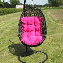 Egg Chair Cushion Inflatable Bed Bath And Beyond Hanging Rope Furniture Leisure Swingasan