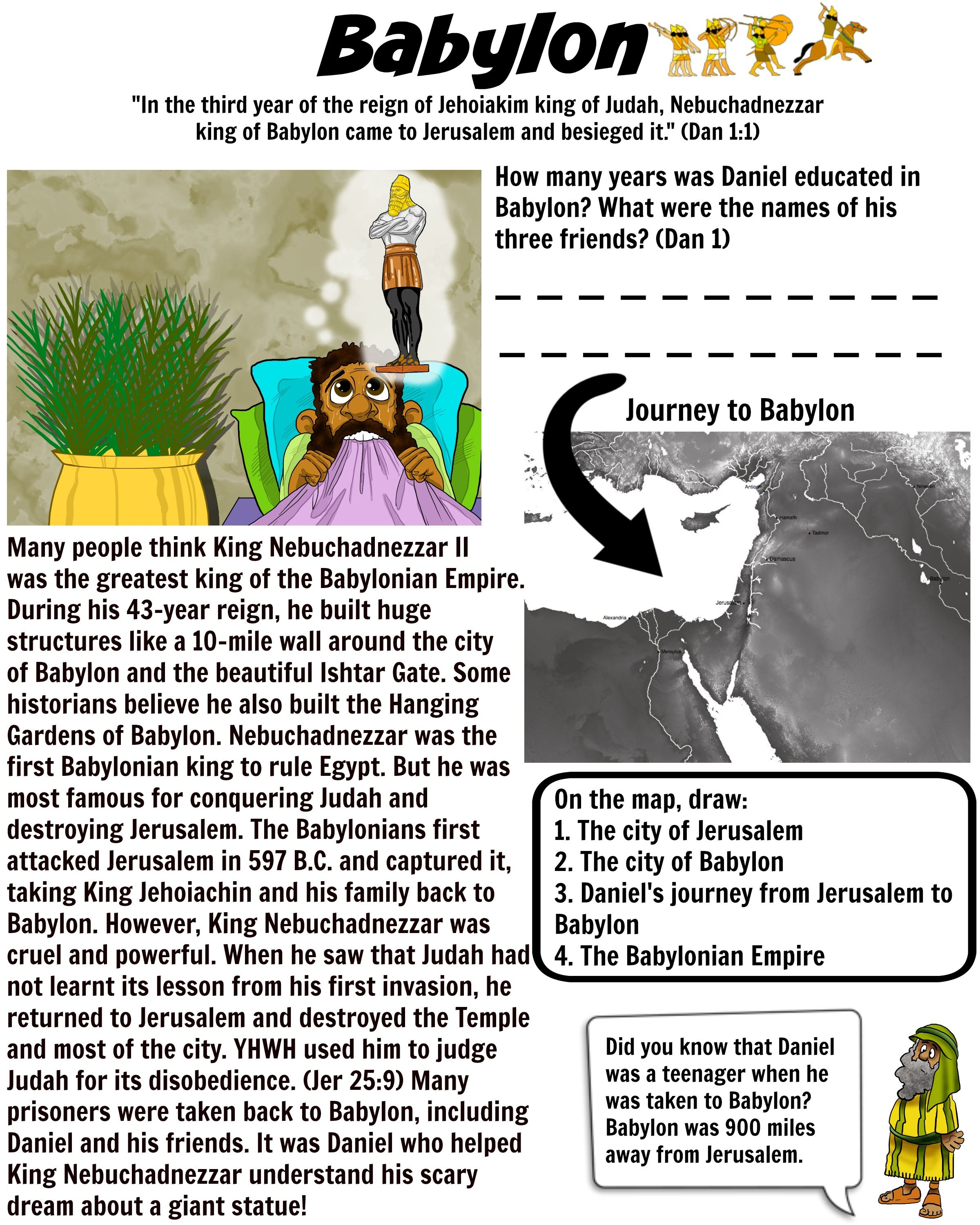 Teach Your Children About King Nebuchadnezzar Of Babylon