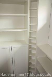 IKEA Hack: Einrichten der Abstellkammer / Speisekammer im ...