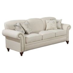 Capetown Sofa In Oatmeal Compact Recliner Found It At Wayfair My Favorites Amelia A Perfect Addition To Your Living Room Or Den This Wood Framed Showcases Rolled Arms And Nailhead Trim