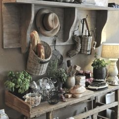 Country Shelves For Kitchen Rustic Cabinet Handles 8 Beautiful Farmhouse Decor Ideas Old