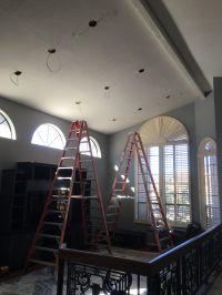 AZ Recessed Lighting Installation   Family Living Room ...