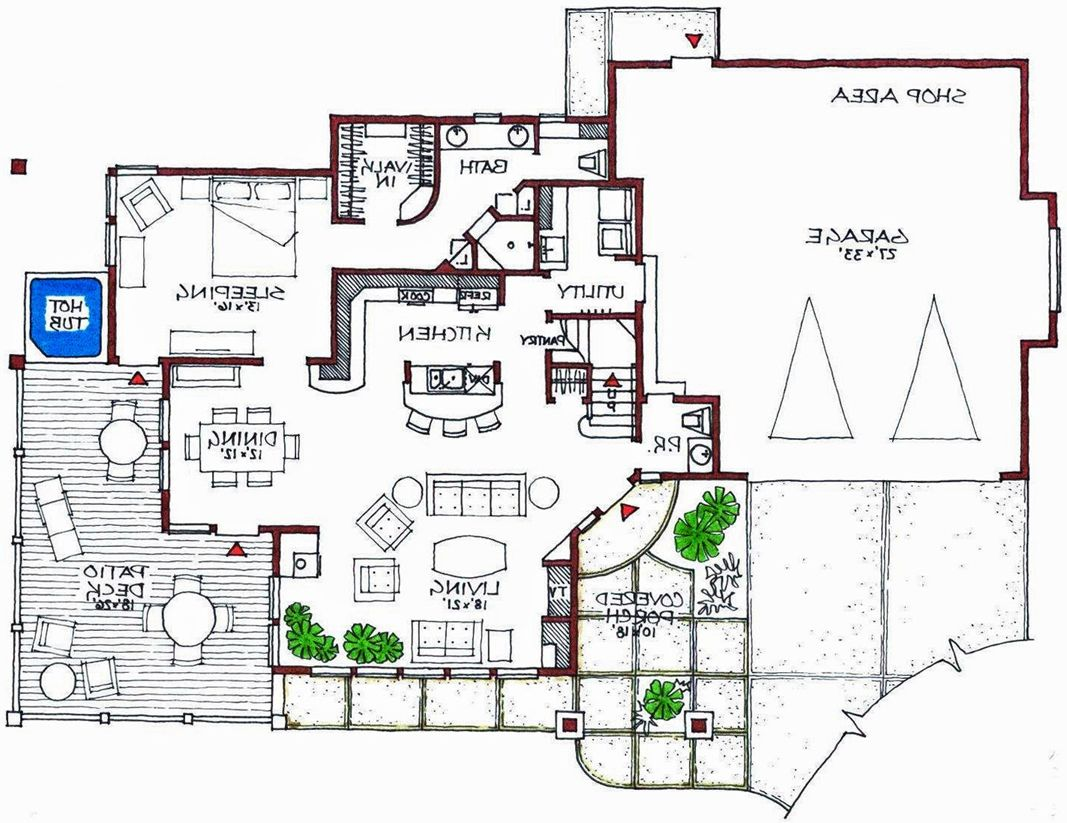 Contemporary House Plans Modern House Plans Contemporary Home