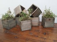 REDUCED! Reclaimed Wooden Planter Boxes - Rustic Wooden ...
