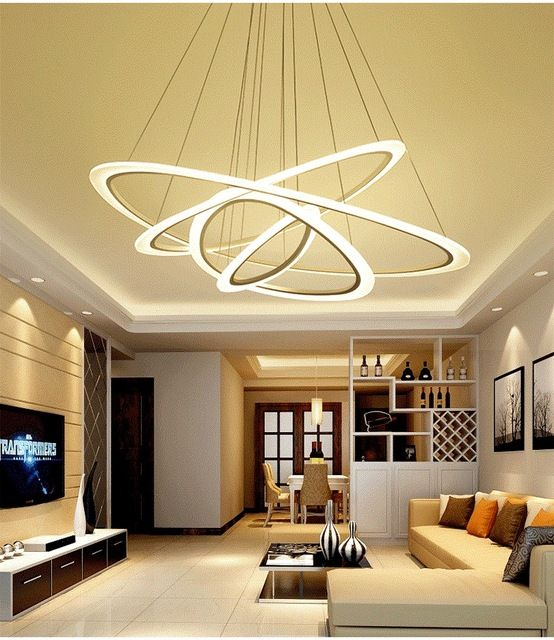 Nieuwe aangekomen Moderne plafond verlichting woonkamer