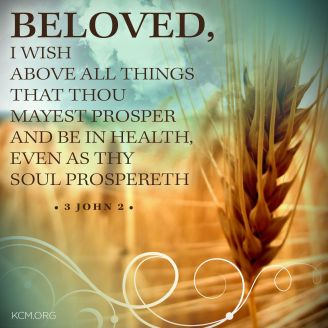 Image result for sunday blessing  3 john 2
