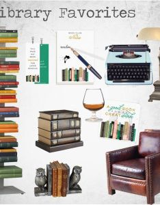 Library favorites by matrickandeve on polyvore featuring interior interiors design home also rh pinterest