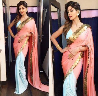 reuse your wedding lehenga dupatta as a saree