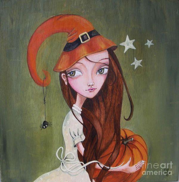 Halloween Fine Art Painting