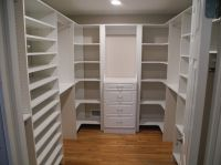 Splendid Closet Corner Shelf with Custom Built Closets ...