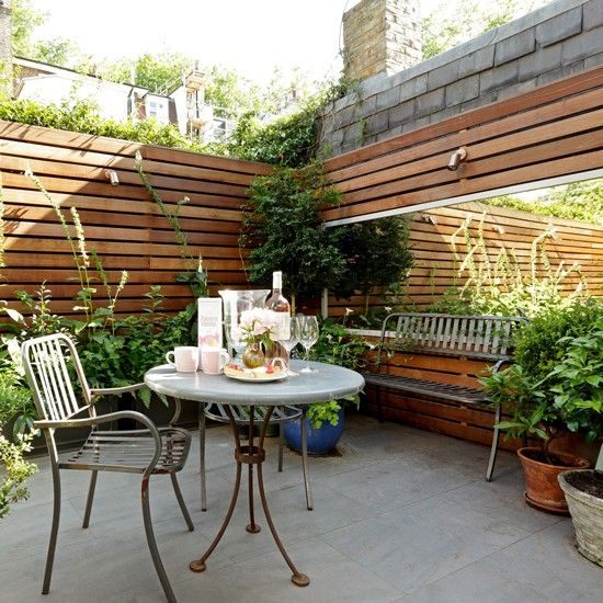 Urban Garden Ideas Gardens Pink Accents And Accents
