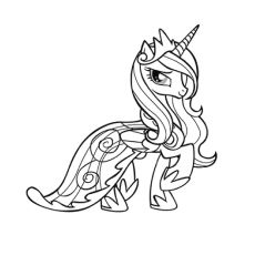 Top 25 'My Little Pony' Coloring Pages Your Toddler Will