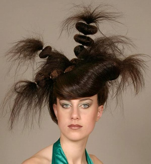 Crazy Hairstyles Image Gallery Hair Designs Overboard And