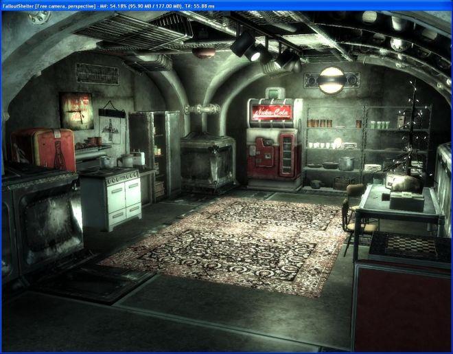 Fall out sheltercool photo fallout shelter bomb