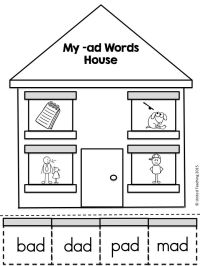 -ad word family house >> part of the short a CVC word ...
