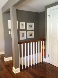 remove/open up wall down to basement?? love the idea ...