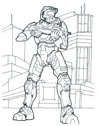 halo 4 colouring pages | Fun with Zack | Pinterest