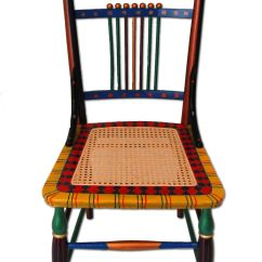 Hand Painted Wooden Chairs Graco Duodiner High Chair Greenhill Custom Furniture With A