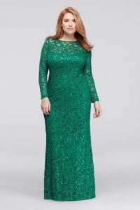 Long Emerald Green Mother Of The Bride Dresses