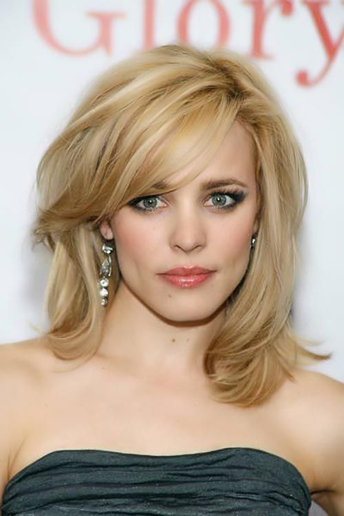 Hairstyles To Hide Forehead Wrinkles Rachel McAdams Defies The
