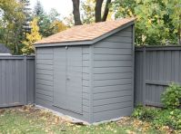 leaning shed|fence shed|small backyard shed|narrow shed ...