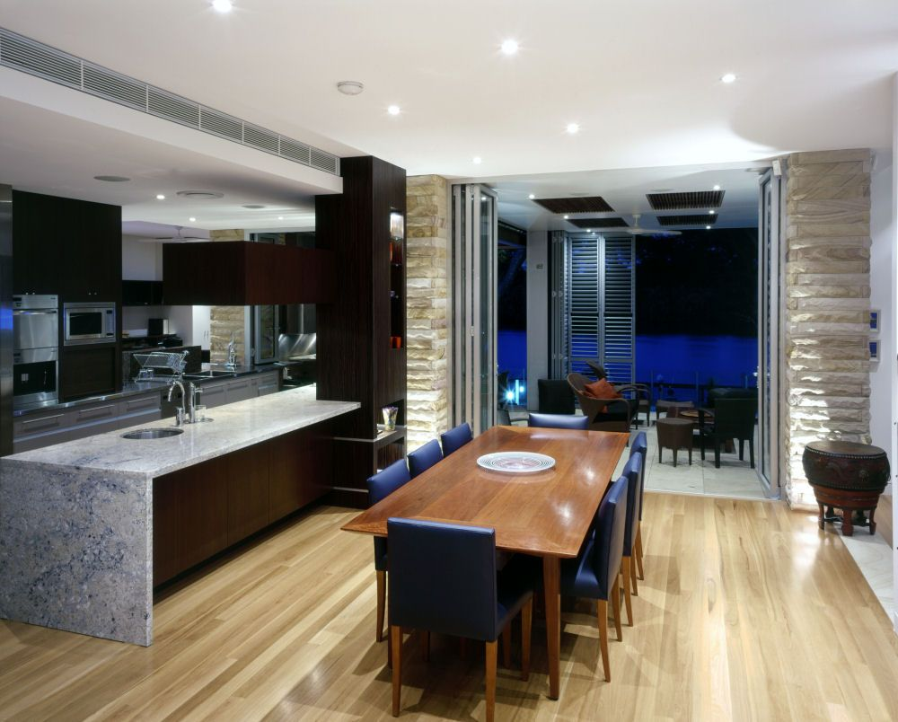 Modern Kitchen and Dining Space Combination  Get the Best