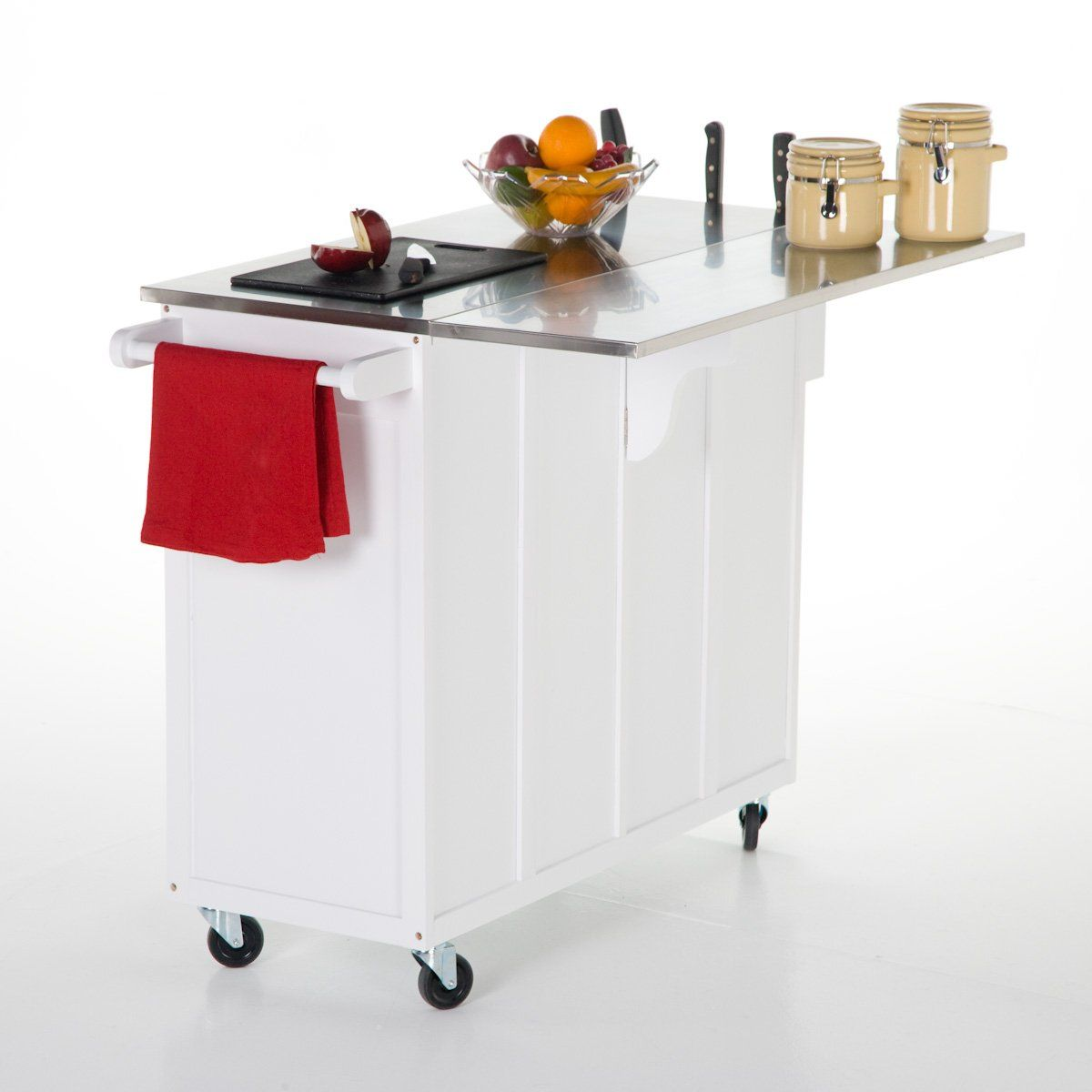 portable island kitchen step stool for the randall with optional stools