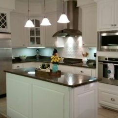 Cheap Kitchen Cabinet Contemporary Decor Our Makeover. Sherwin Williams Alabaster Cabinets ...