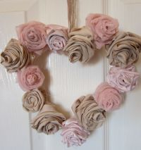 Shabby Chic Crafts To Make | shabby chic wreath | Shabby ...