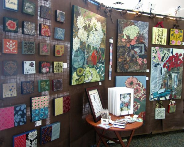 Art Fairs Booth Display Ideas