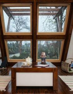 Interior of soleta zero energy tiny home also small house obsession rh pinterest