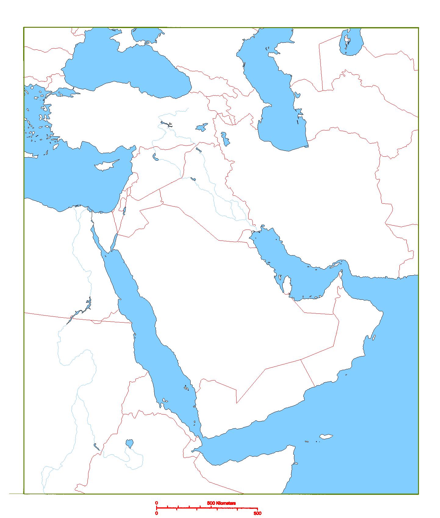 Map Ancient Egypt Fertile Area