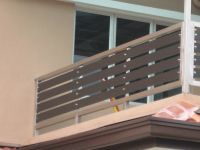 modern terrace railing design