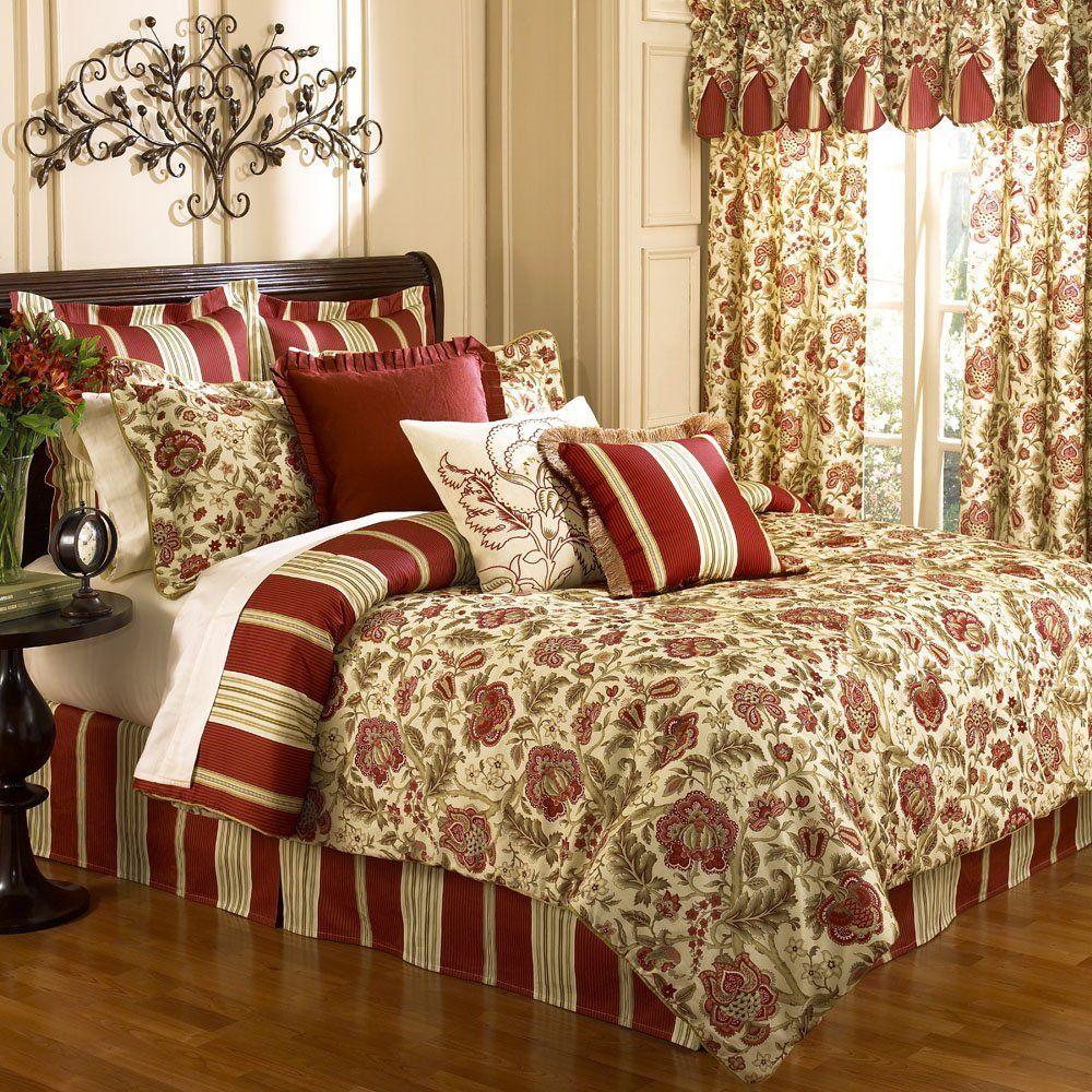 Waverly Imperial Dress Brick King Comforter