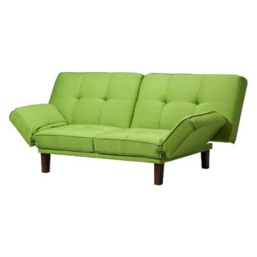 full size sleeper sofa slipcover christina red black 2 tone bonded leather modern set green futon