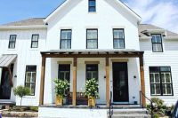 White house, black windows   Curb Appeal - Exteriors ...
