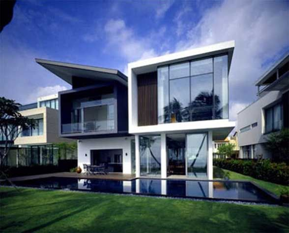 Ultra Modern Residential Architecture By K2LD Architects