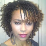 twists. rods used curl ends