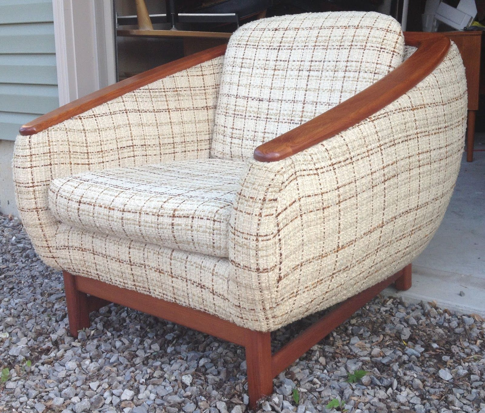 teak lounge chair fit gym time capsule now sold vintage danish