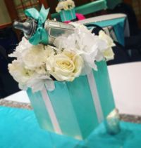 Tiffany & Co. Baby Shower Party Ideas | Baby shower ...