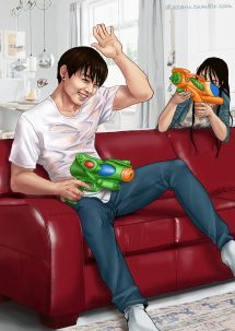 Bts Fanart Jungkook Credit #couple #