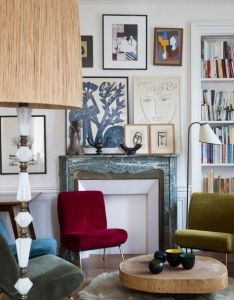 House perfectly orchestrated interior colorsinterior designinterior wallswall galleriesroom also  pinterest gallery wall rh