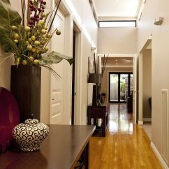 Decorating Ideas Long Narrow Living Rooms Clearance Room Furniture Sets Hallway | Hallways Are ...