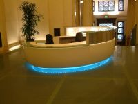 Modern Round Reception Desk - Fusion Executive Office ...