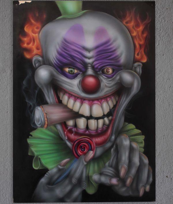 Javier Soto Airbrush Clown
