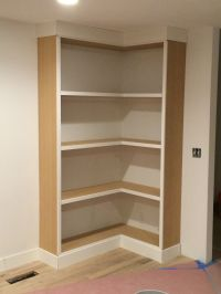 DIY Corner Bookcase (video) - withHEART | Home & Furniture ...