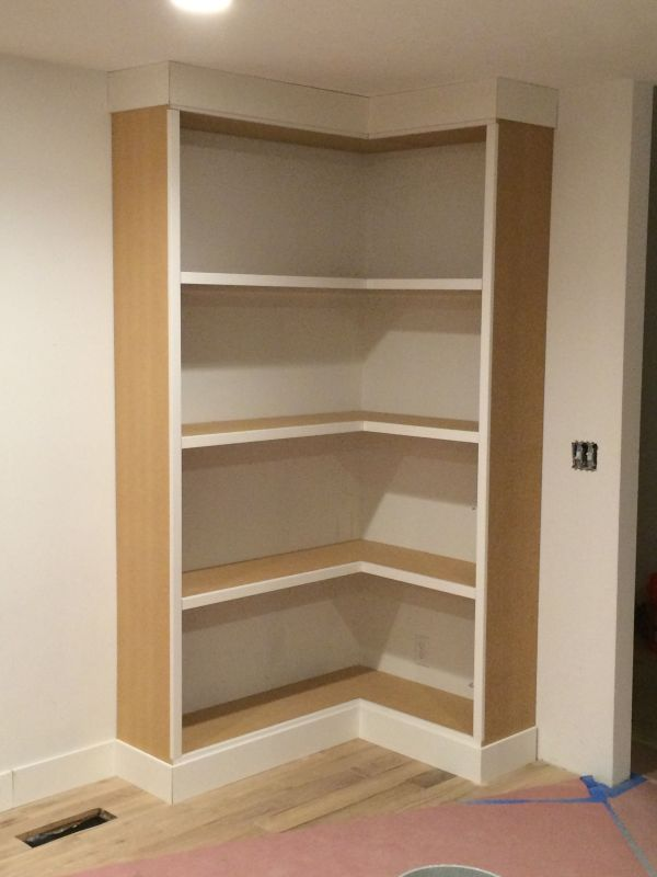 Bookcase Corner Bookshelves
