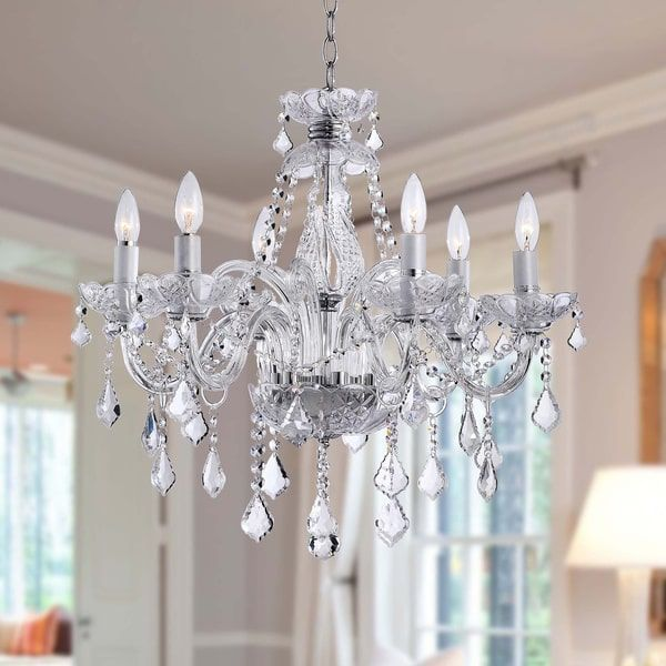 Maria Theresa 6 Light Crystal Chandelier Ping The Best Deals