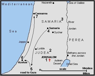 Image result for map of judea and galilee